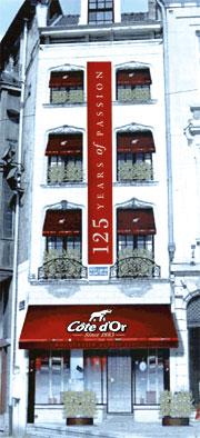 Côte d'Or ouvre sa Boutique en plein coeur de Bruxelles