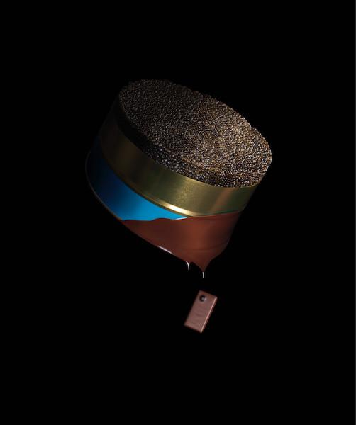 Le caviar au chocolat par la Maison du Chocolat et Pretrossian©