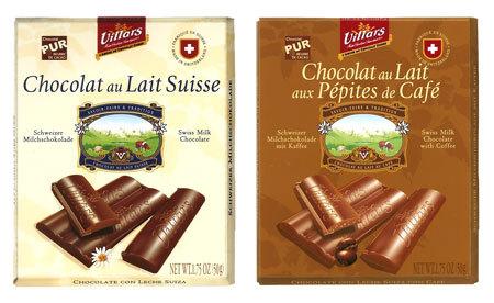Villars Maître Chocolatier lance ses snacking à déguster sans modération...