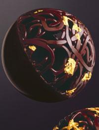 Pierre Marcolini créé une merveilleuse Boule de Noël et sublime nos tables de fêtes …