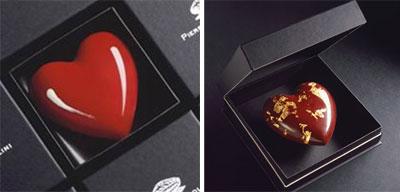 Pierre Marcolini invite tous les amoureux à un instant de dégustation infiniment romantique.