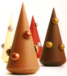Les Sapins de Noël de Pierre Marcolini Collection Noël 2006