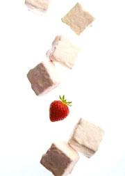 Star de l'été 2007 : la guimauve à la fraise enrobée de chocolat blanc