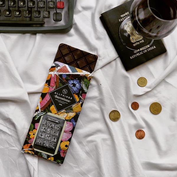 -La tablette -Barcelona- de All Things Chocolate©