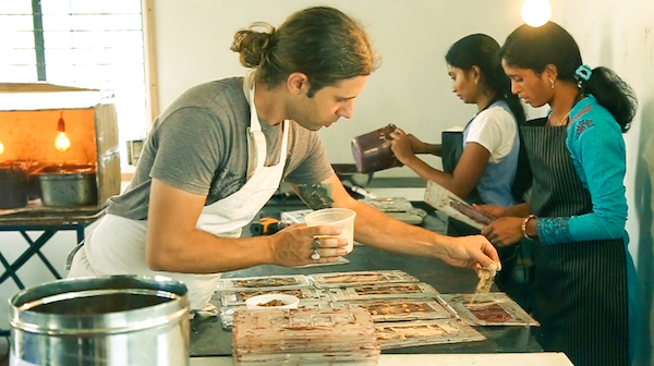 La fabrication du chocolat chez Earthloaf©