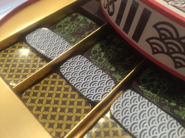 Les chocolats du coffret Japon par Henri Leroux©ChocoClic