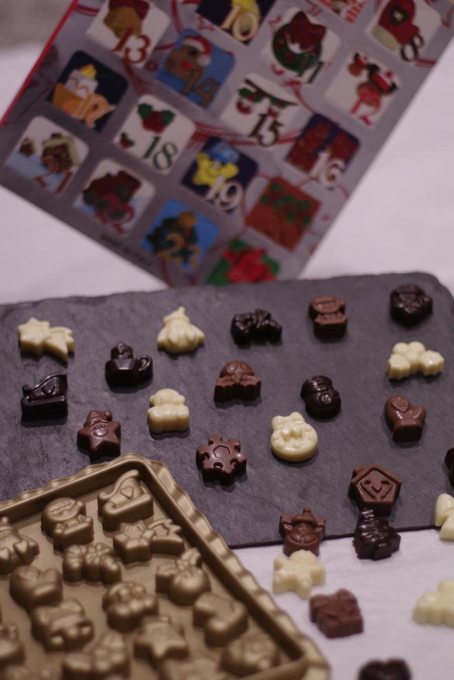 Les calendriers de l'avent au Musée du Chocolat de Paris©