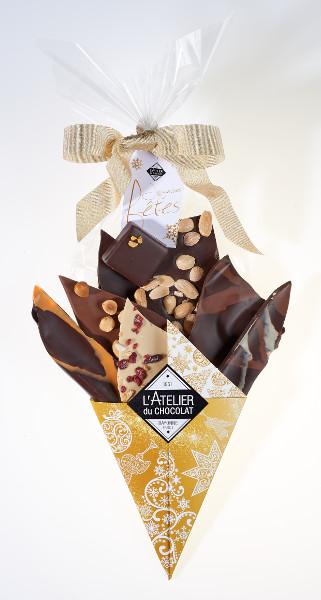 Bouquet de fêtes par l'Atelier du Chocolat©