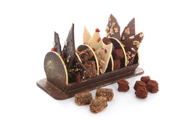 Bûche de Noël par l'Atelier du Chocolat©