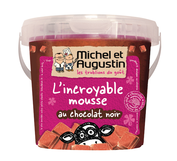 Mousse au chocolat noir, Michel et Augustin©