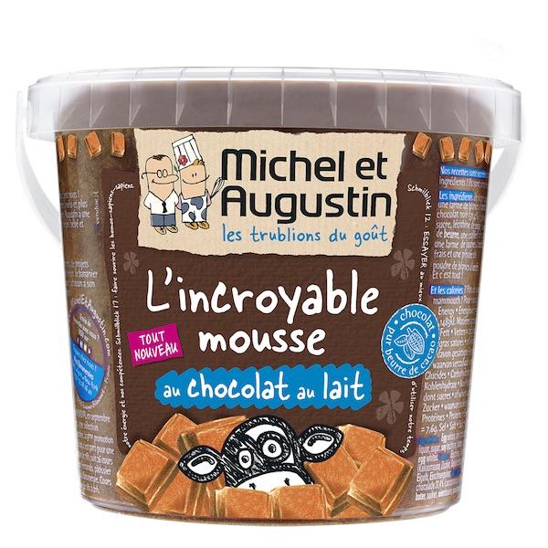 Mousse au chocolat au lait - Michel et Augustin