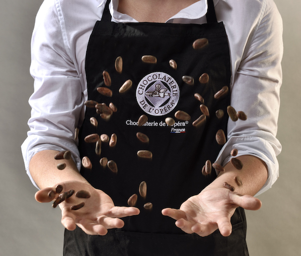 Feve de cacao©Chocolaterie de l'Opéra