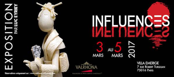 Exposition Influences par Valrhona©