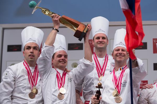 L'équipe française championne du monde de pâtisserie©