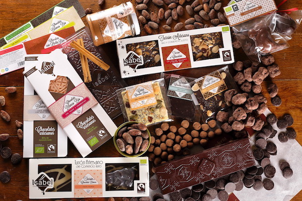 La collection de chocolat d'Isabel Chocolate©