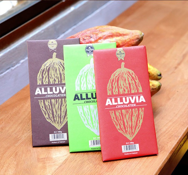 La collection de chocolats d'Alluvia©