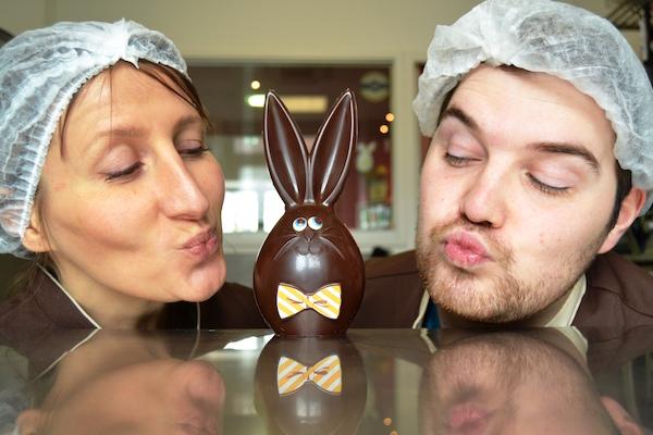 Pâques à la chocolaterie Signouret©