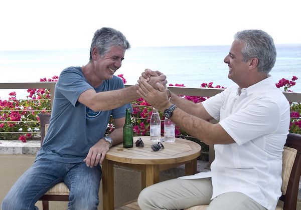 Anthony Bourdain et Eric Ripert©