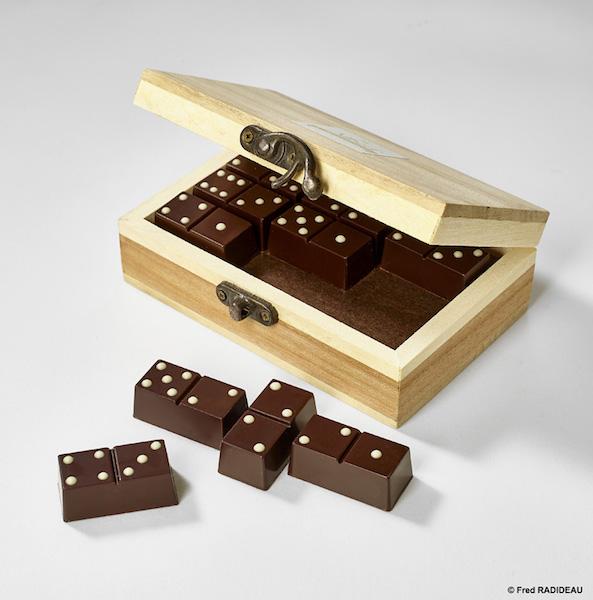 Dominos en chocolat par Albert Chocolatier©