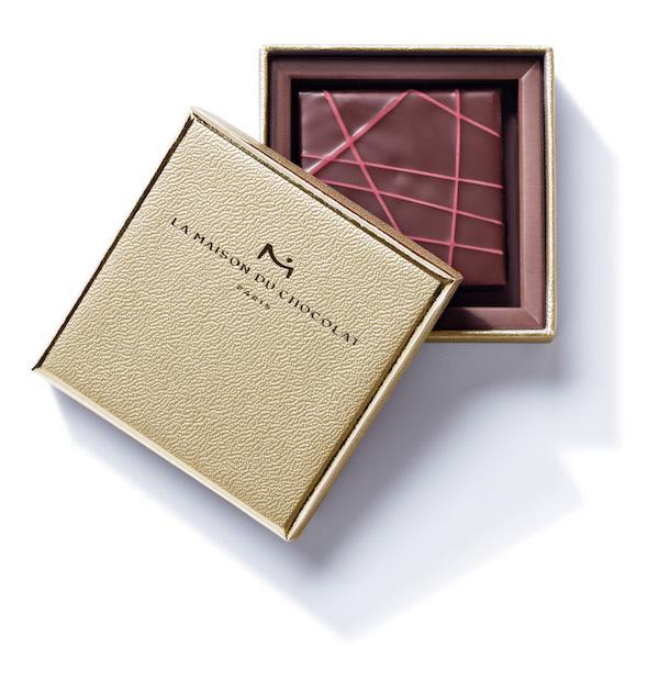 Boîte PLATINE +Néroli©Maison du Chocolat
