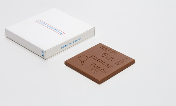 Les cartes en chocolat de Candy Mechanics©