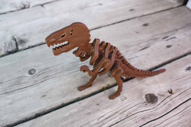 T-Rex en Chocolat©Chocolate Construction