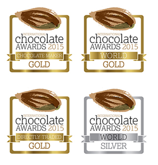 Logo des International Chocolate Awards©