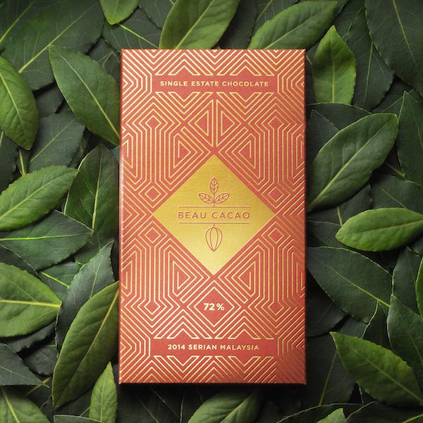 Feuille d'Or par Beau Cacao©Olivier Foulon
