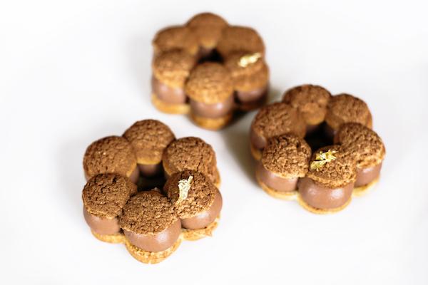 Paris-Brest Chocolat-Bergamote par la Pâtisserie des rêves©