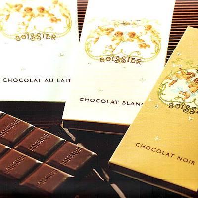 Tablettes de chocolat à l'ancienne