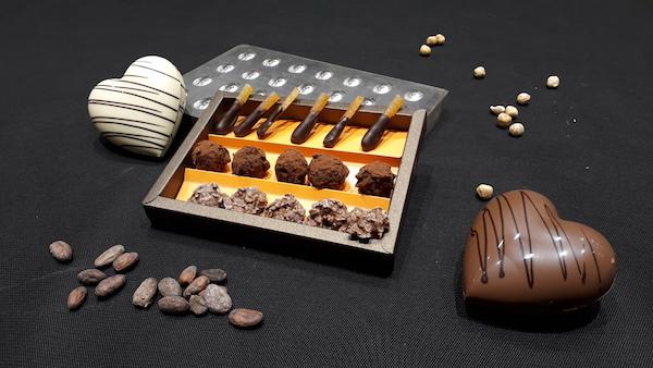 Le coffret St Valentin©Musée du Chocolat de Paris