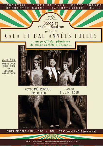 Gala et Bal©Chocolat Guérin Boutron
