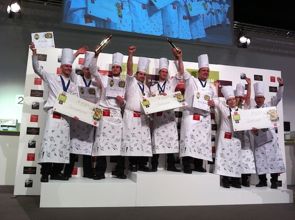 Les gagnants de la coupe du mone de la pâtisserie©