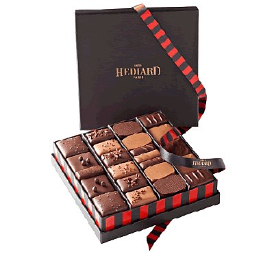 Un coffret de chocolats de Noël aux saveurs du Monde !