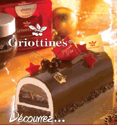 Découvrez la Bûche chocolat Griottines 2010 chez les Artisans Pâtissiers de Rhone-Alpes