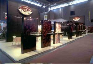 Chocovic in Europain 2005
