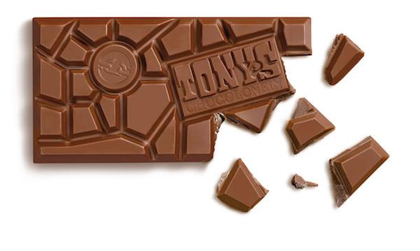 Barre de chocolat par Tony's Chocolonely©