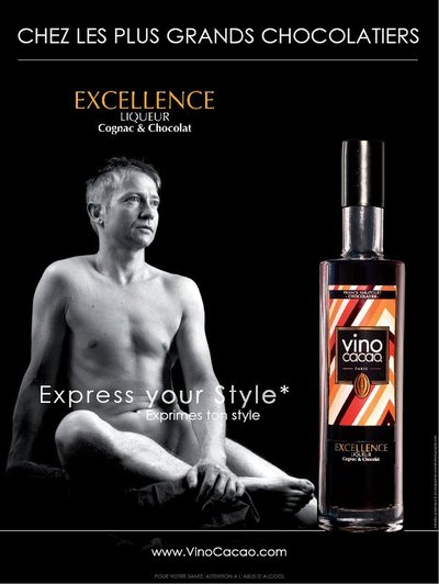 EXCELLENCE Liqueur Cognac & Chocolat par Vinocacao