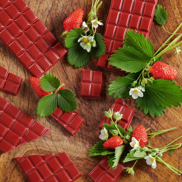 Tablettes fraise©Sève