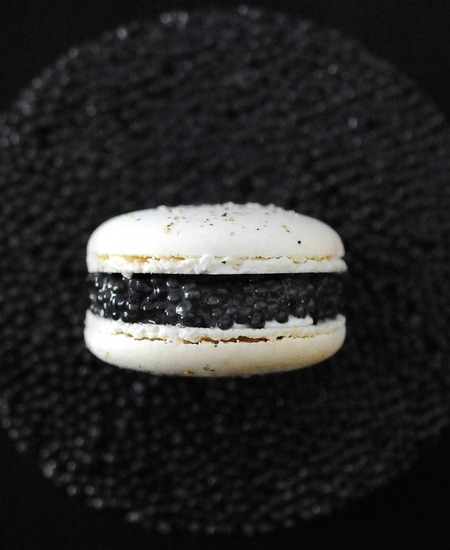 L'or Noir en Macaron