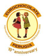 10° anniversaire EUROCHOCOLATE à PERUGIA en Italie