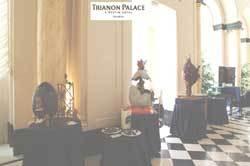 Exposition des Œufs Royaux du 5 au 18 avril 2004 dans la galerie de l'hôtel Trianon Palace