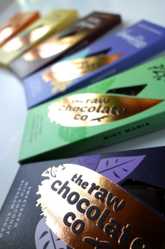Nouvelles tablettes ©Raw Chocolate Compagny