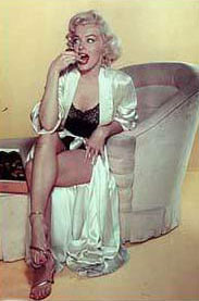 Marilyne Monroe, petit caprice chocolat
