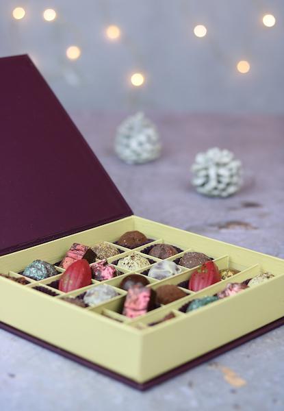 Boîte de chocolat Paul A Young©