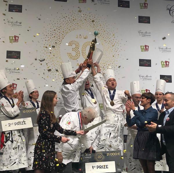 Vainqueurs de la coupe du monde de la Pâtisserie©