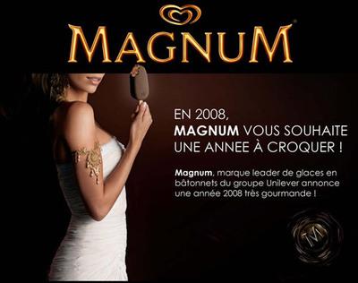 En 2008, Magnum vous souhaite une année à croquer !