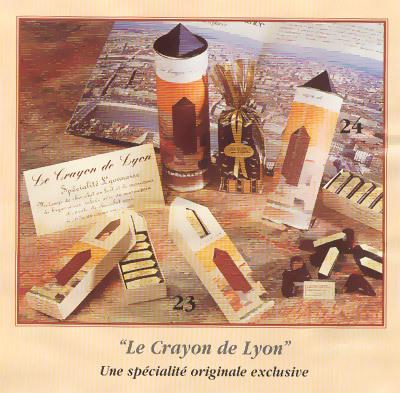Chocolat Crayon de Lyon