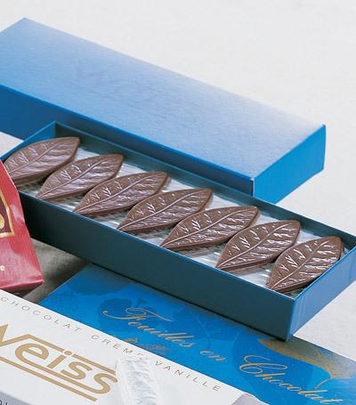 Feuille en Chocolat