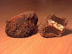 Chocolat le Charbon de bois